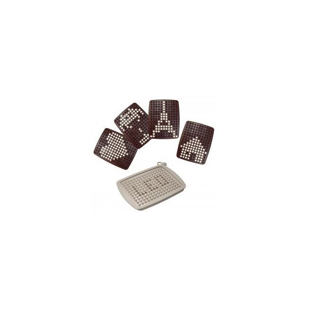 FIN DE SERIE Moule Tablette Graphique Chocolat