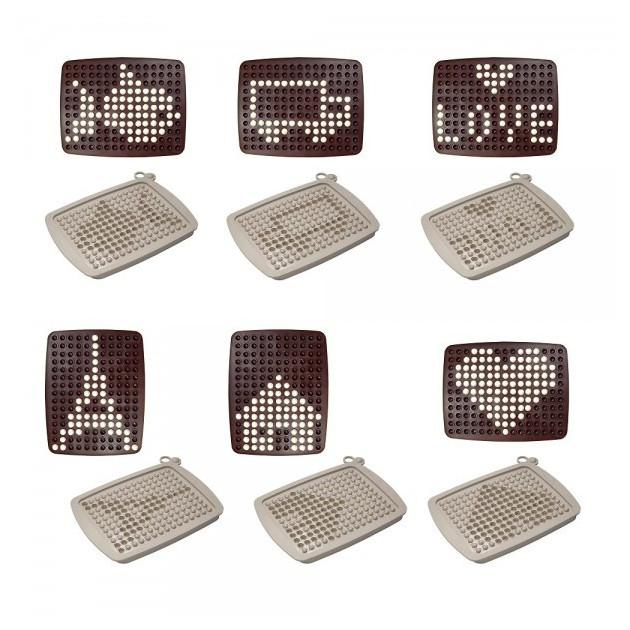 Exemple de creations Tablette chocolat graphique
