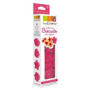 Kit 4 découpoirs pour Biscuits à la confiture