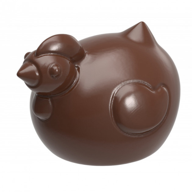 Moule a Chocolat Poule Ronde (x18) Chocolate World