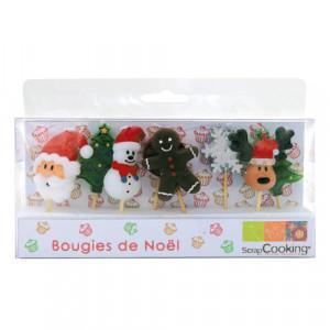 Bougie de Noël (x8)
