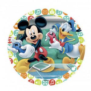 FIN DE SERIE Disque Azyme Mickey et Donald Jeux Vidéo 21 cm