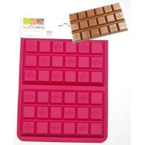 Moule silicone 2 tablettes de chocolat