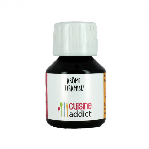 Arome Alimentaire Tiramisu 58 ml Cuisineaddict