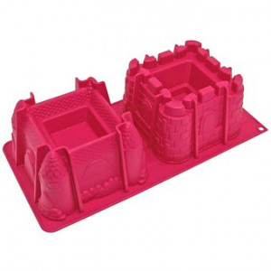 Moule silicone 2 chateaux 3D