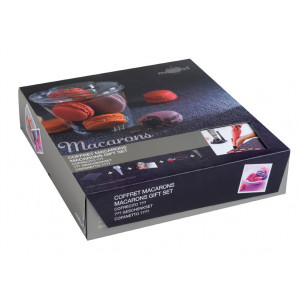 FIN DE SERIE Coffret Cadeau Macarons Mastrad