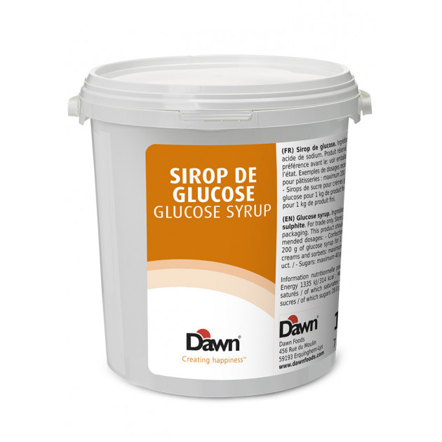Sirop de Glucose cristal 1 kg Dawn Caullet