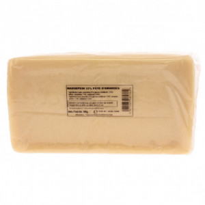 Pate d'amande blanche 33% 1 kg