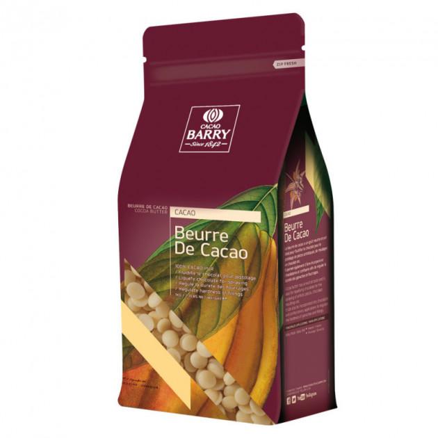 Beurre de Cacao Barry 1kg