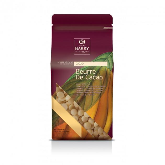 Beurre de Cacao en Pistoles Barry Sac 1kg