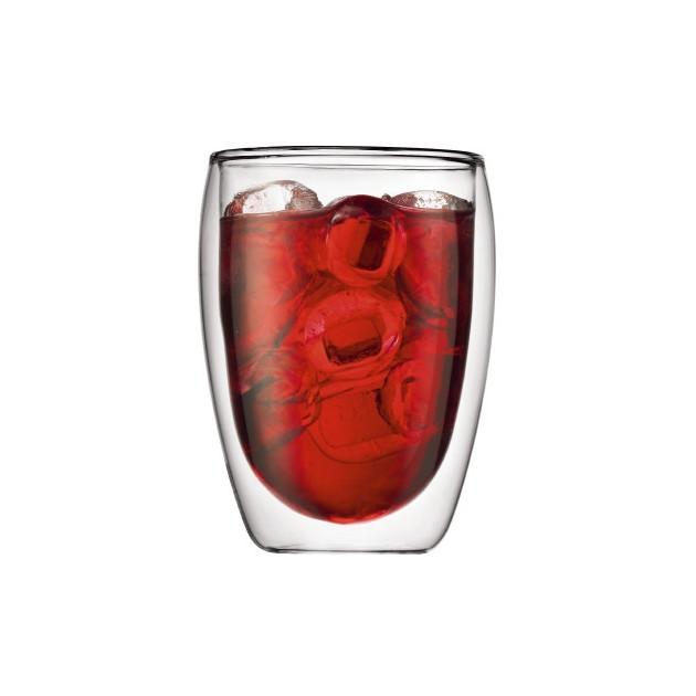 Verre Double Paroi Bodum pour boissons froides