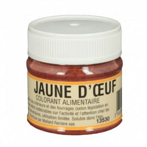 Colorant alimentaire Jaune d'Oeuf E102/E129 Poudre Hydrosoluble 20g