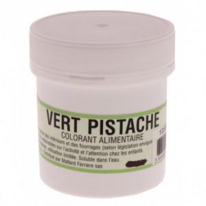 Colorant alimentaire Vert pistache E102/E131 Poudre Hydrosoluble 20g