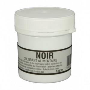 Colorant alimentaire Noir Charbon E153 Poudre Hydrosoluble 15g