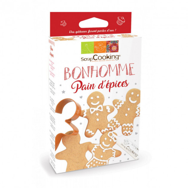 Kit Bonhomme Pain d'epices ScrapCooking