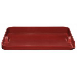 FIN DE SERIE Plancha pour barbecue en céramique rouge Emile Henry 39 x 31 cm