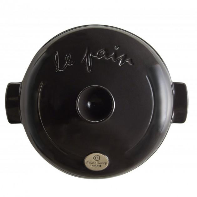 Coffret Cloche a Pain en Ceramique Noir