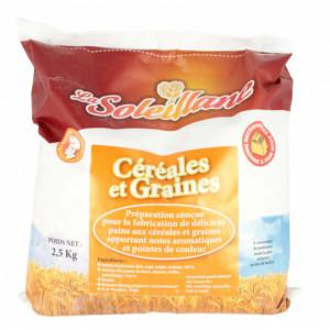 Préparation Pains aux Céréales 2,5 kg