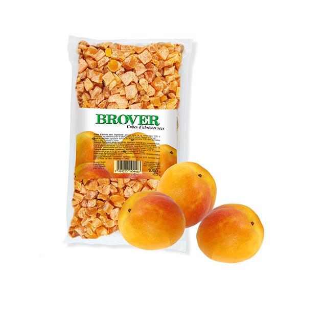 Abricots secs en cubes - 1 Kg