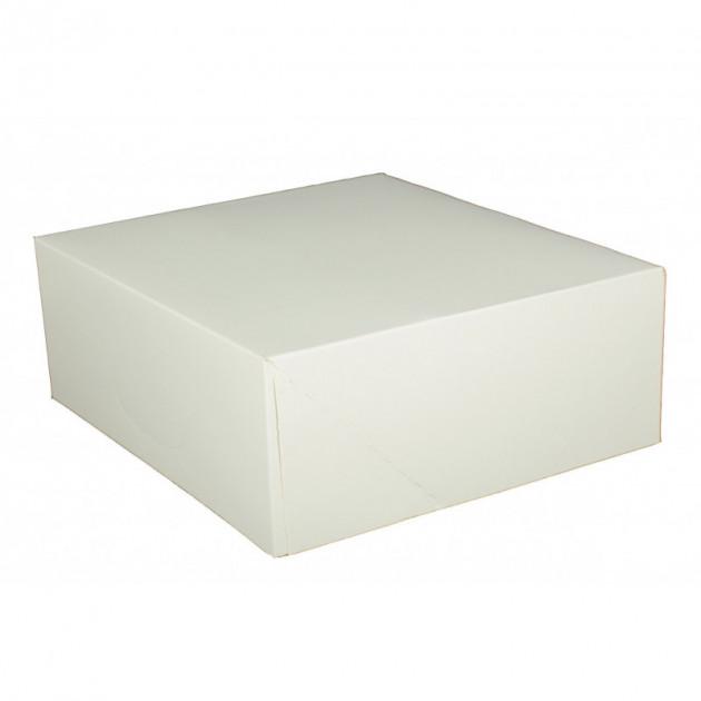 boîte patissiere blanche