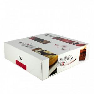 Boîte pâtissière - 35 x H 8 cm - (x25)