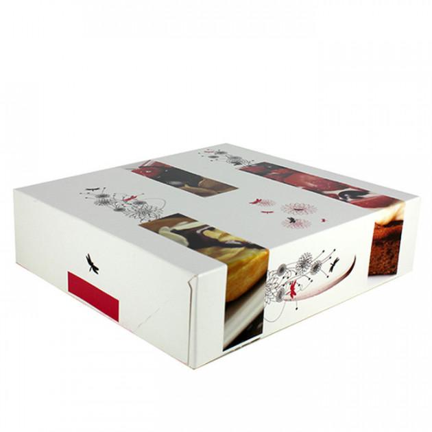 Boîte patissiere - 40 x H 5 cm - (x25)
