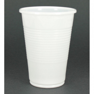 Gobelet Blanc Opaque 20cl (x100)