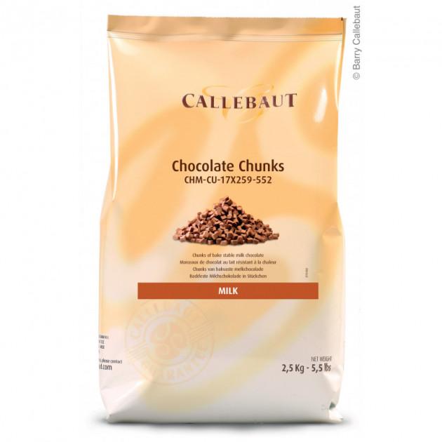 Chocolat au Lait Chunks