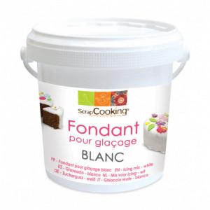 Fondant pour Glaçage Blanc goût Vanille 500g Scrapcooking