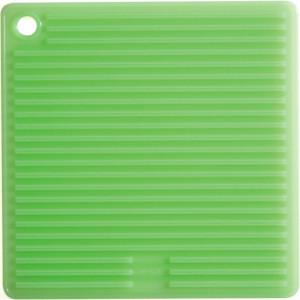 FIN DE SERIE Manique Carrée Silicone Vert