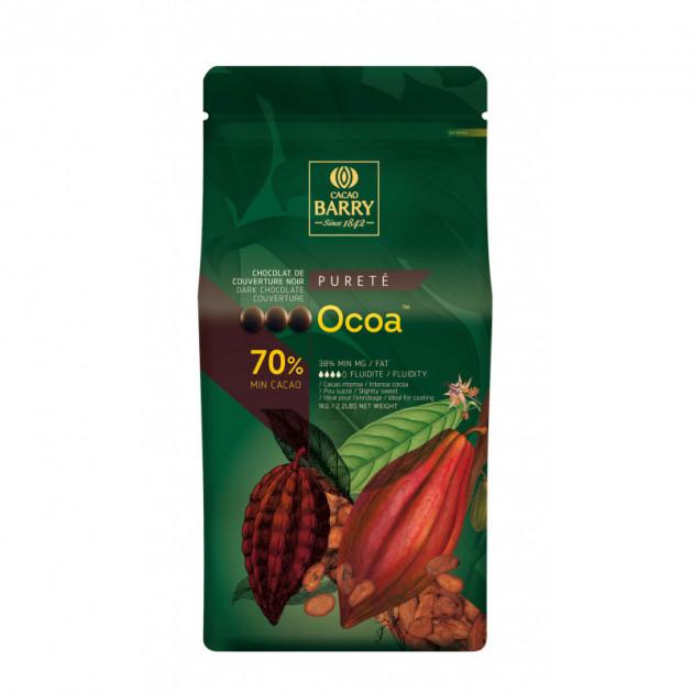 Chocolat Noir en Pistoles Barry Ocoa 70%