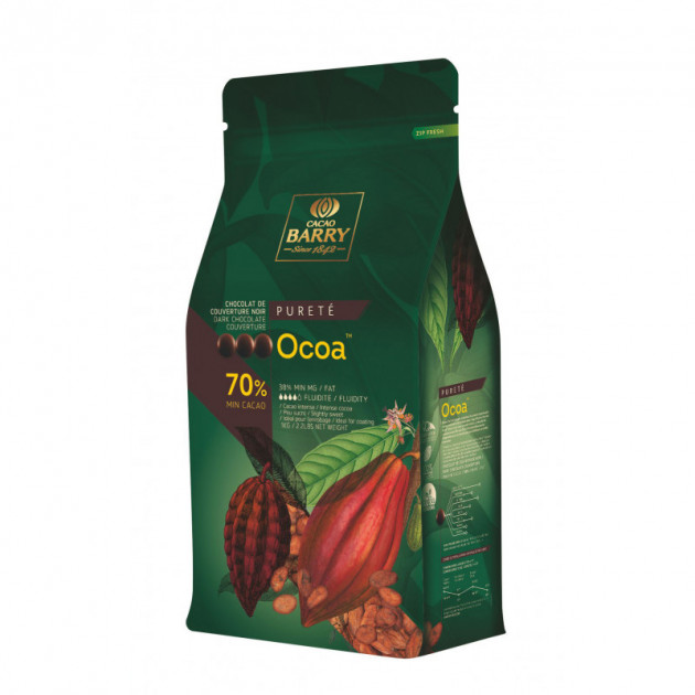 Chocolat Noir Ocoa 70% 5 kg