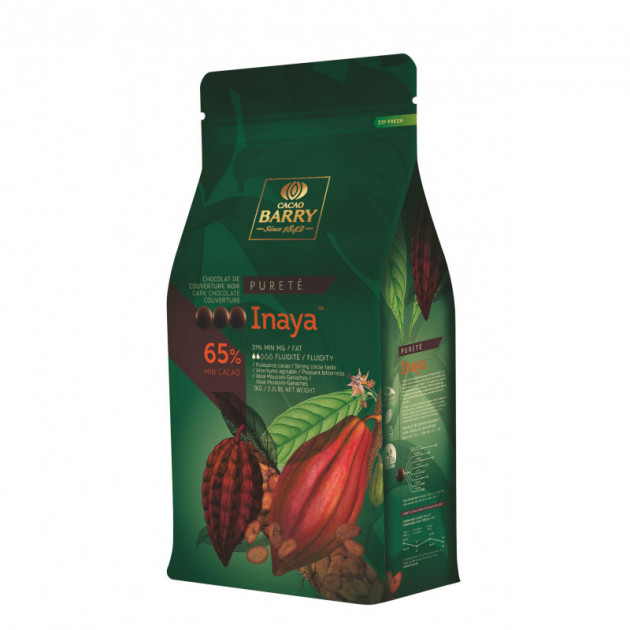 Chocolat Noir Inaya 65% 1 kg