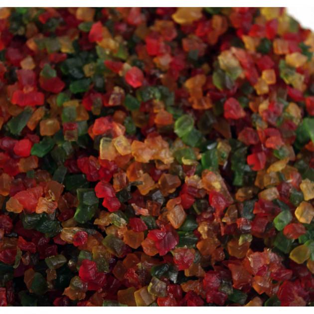 Cubes de fruits confits tricolores 1kg