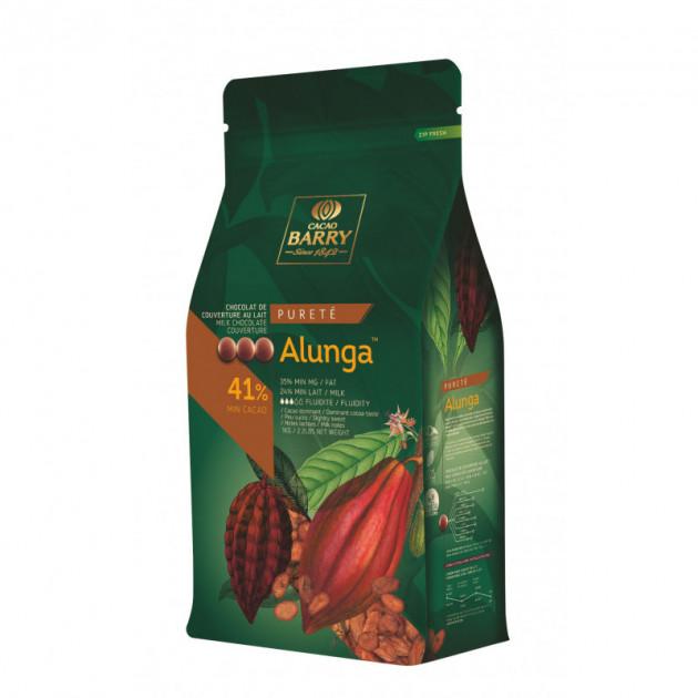 Chocolat au Lait Alunga 41% 5 kg Article precedent Article suivant