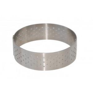 Cercle perforé Ø 8,5 cm de L'école Valrhona par De Buyer