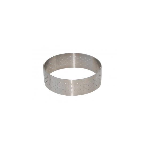 Cercle perfore Ø 8.5 cm de L'ecole Valrhona par De Buyer