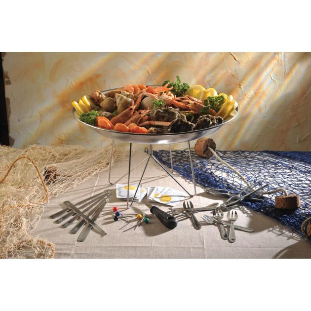 Service crustaces par LeBrun - 23 pieces