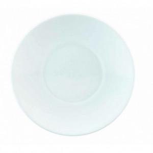 FIN DE SERIE Assiette plate à dessert Galice en Porcelaine Blanche 16 cm