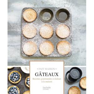 Livre de recettes Gateaux, chez Hachette