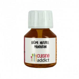 Arôme Alimentaire Naturel Mandarine 58 ml Cuisineaddict