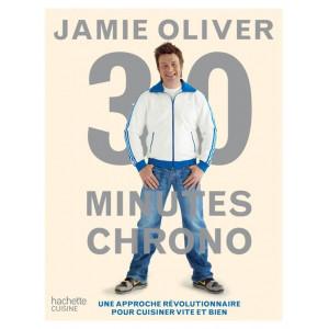 Livre de recettes 30 minutes chrono, chez Hachette