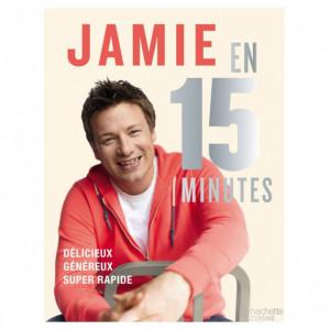Livre de recettes Jamie en 15 minutes, chez Hachette