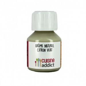 Arôme Alimentaire Naturel Citron Vert 58 ml Cuisineaddict