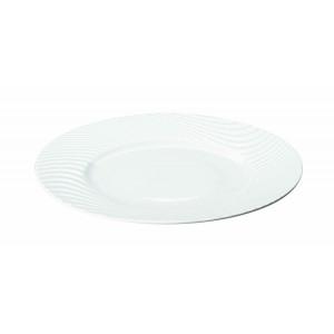 Assiette plate ronde Nara en Porcelaine 28 cm (x12)