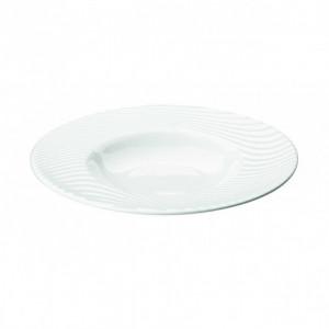 Assiette creuse ronde Nara en Porcelaine 30 cm (x6)