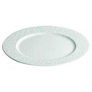 Assiette plate à dessert petite aile Aqua en Porcelaine 16 cm (x12)