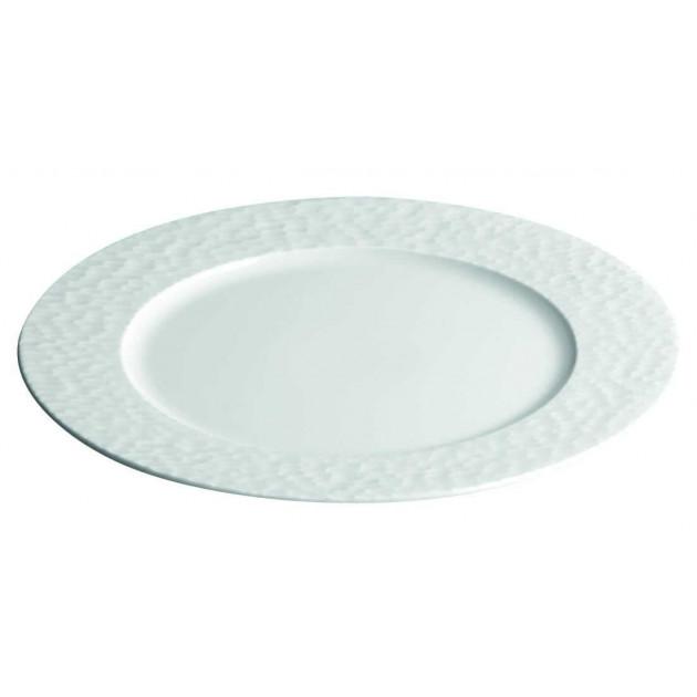 Assiette plate petite aile Aqua en Porcelaine 16 cm (x12)