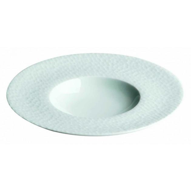 Assiette creuse Aqua en Porcelaine 27 cm (x6)
