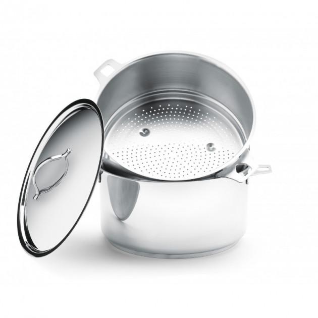 Passoire pour cuit-vapeur Inox sans Queue Ø 24cm Twisty de Buyer